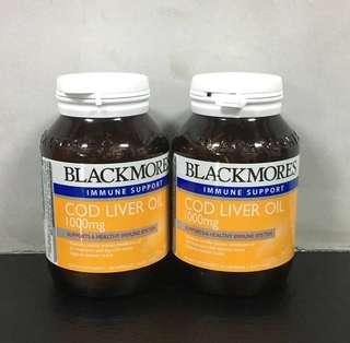 Blackmores Cod Liver Oil 1000mg