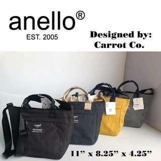 Anello Polyester Canvas Bag
