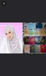 Belofa instant shawl w inner attached