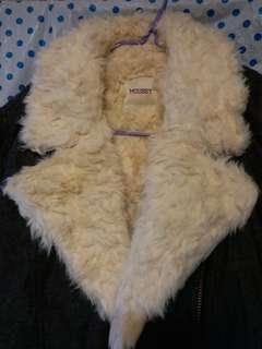 Moussy毛毛外套