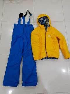 Children Ski Pant and reversible Jacket