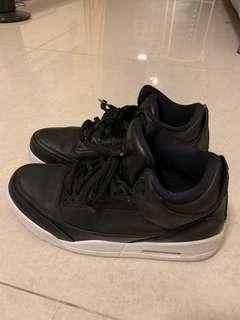 Nike air Jordan 3 retro black/white UK 9.5(44.5) (好新)