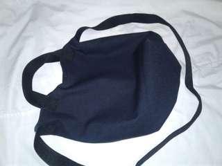 New mini blue black bag