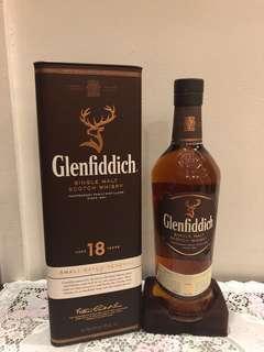 Glenfiddich 18 Years Scotch Whisky