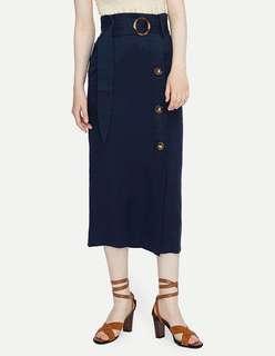 Black Waist Skirt