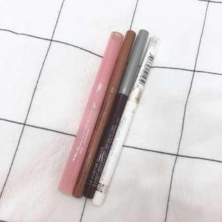 唇线笔集合dior/clinique/rimmel/nyx