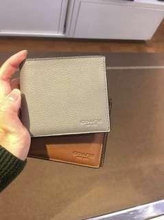 PREORDER Authentic COACH Men's leather wallet ✈🇺🇸