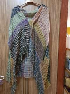 Plus size abstract sweater