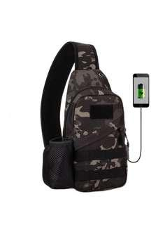 🚚 Outdoor Portable Sling Army Bag Military Chest Pack Tactical Small Chest Bag( instock)