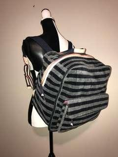 Juicy Couture XLarge Striped Velour Backpack
