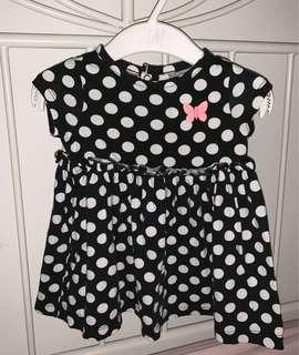🚚 Carters Cute Polka Dot Dress ( 6 to 8 month )