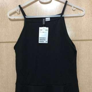 H&M Black Halter Dress