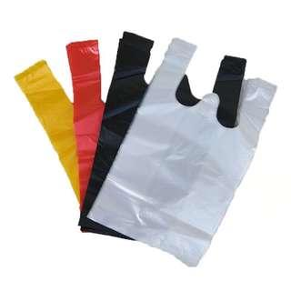Cat litter disposable plastic bag