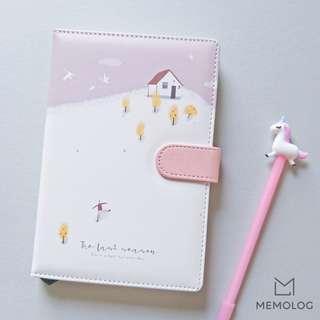 A5 The Last Season Cute Illustration Planner Notebook