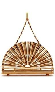 Cult Gaia Dome Bamboo Bag