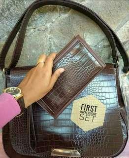First Impression Handbag + wallet