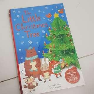 Instock Pop Up Book The Little Christmas Tree