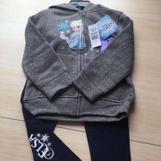Frozen Elsa Jacket & Pants Set - 4 yr old