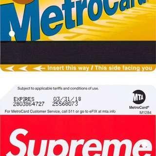 Card Sticker (Supreme Ss17 MTA)
