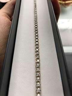Diamond tennis bracelet RRP $3999