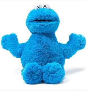 KAWS x Uniqlo Sesame Street Cookie Monster