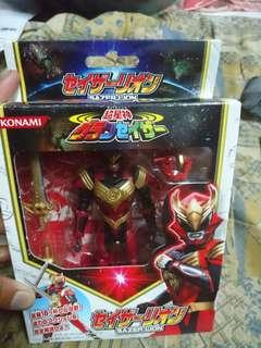 Konami jointed figure Gransazer sazer Lion