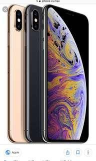 Recontract Iphone XS Max 256gb Any Color