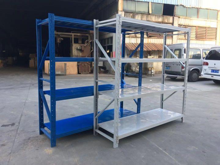香港貨架子調節貨架中型倉儲架