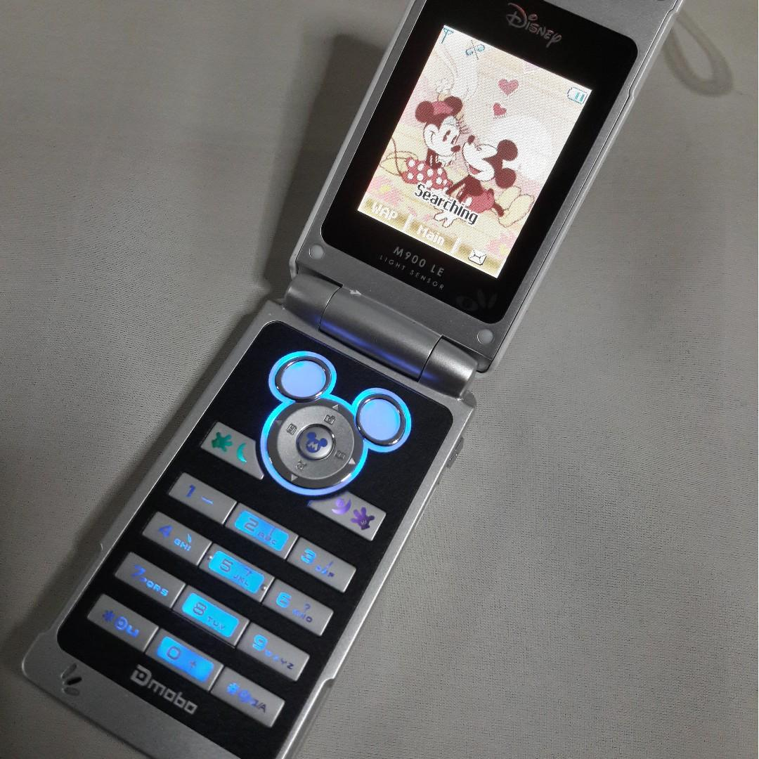 🆒 Dmobo M900 Mickey Mouse Limited Edition Flip Phone