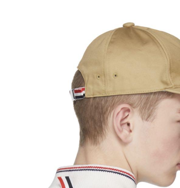 7290210ee7ae0 全新有單Thom Browne Khaki Baseball Cap hat new