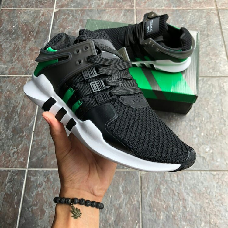 cheap for discount 590e6 a8d1e Adidas EQT ADV Black Green 😊