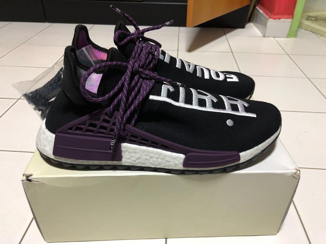 7aa2ab30fe505 Adidas Human Race NMD Pharrell Holi Festival  Holi Pack  (Core Black) US 11