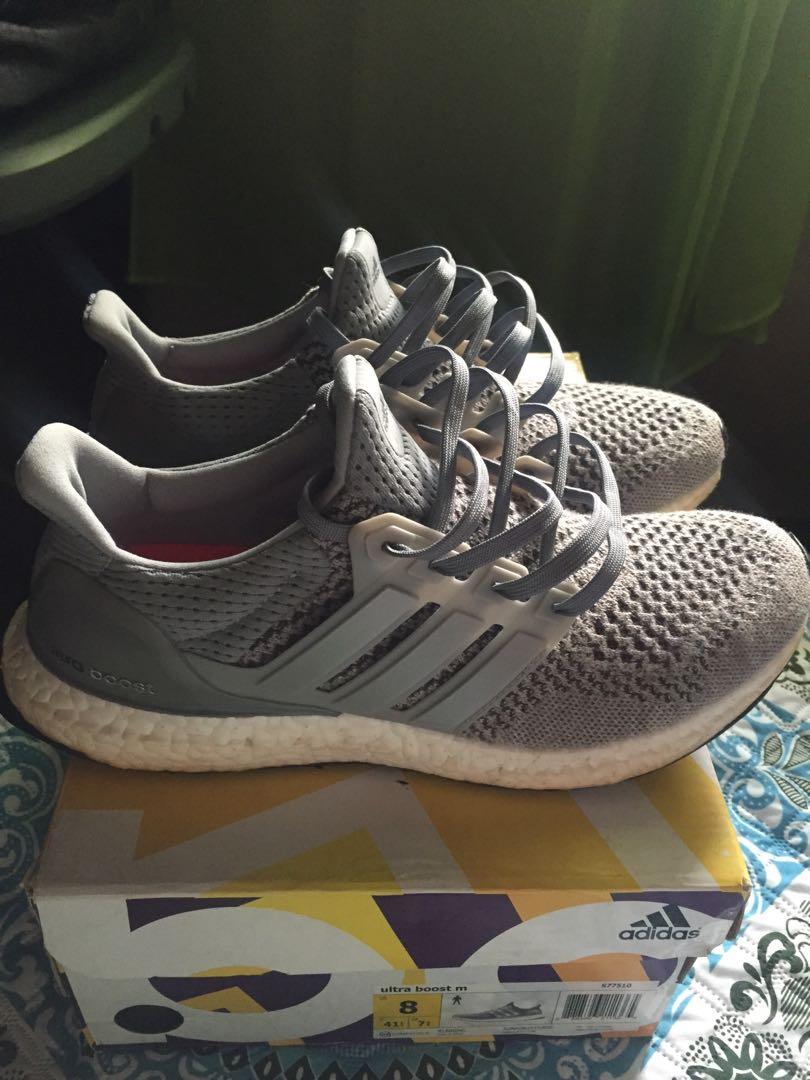 save off b328c 93d8c Adidas Ultraboost V1 Wool Grey