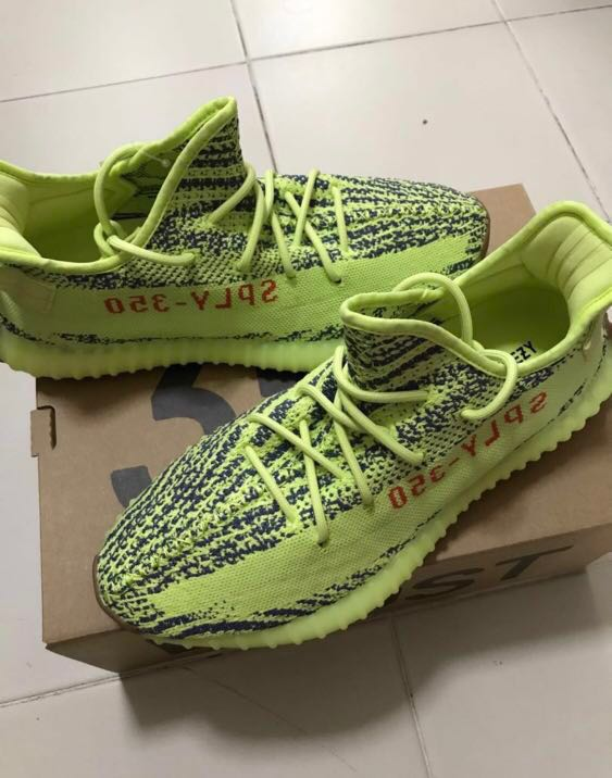 b6e630df257ee Adidas Yeezy frozen yellow US 11 and 10.5