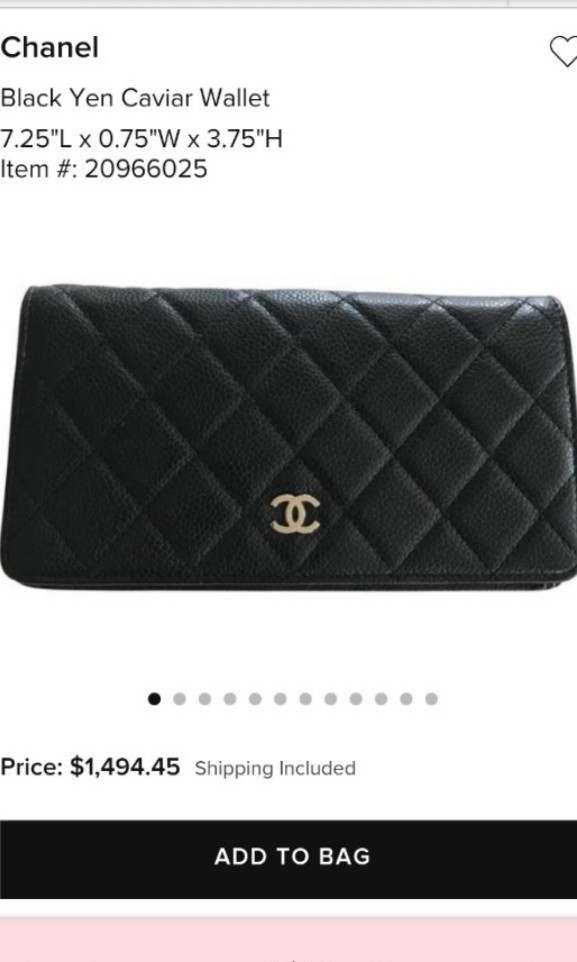 195807061e83 Sales- Authentic Brand New Chanel Caviar Medium Wallet for sales ...