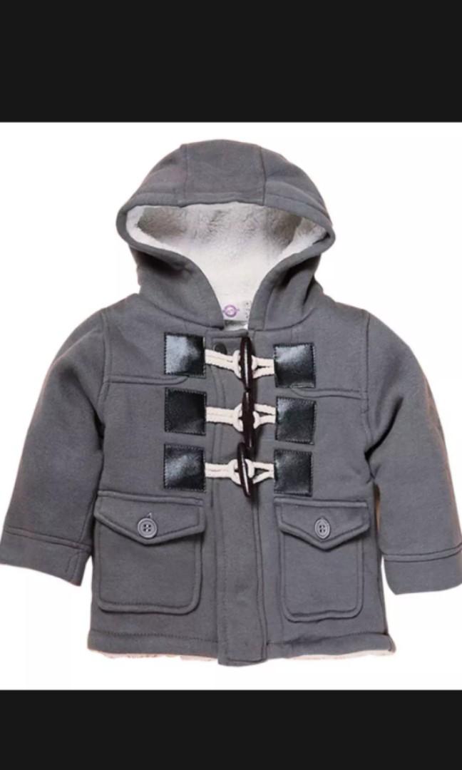0b5b3aa78e3e Baby boy fleece jacket (grey)