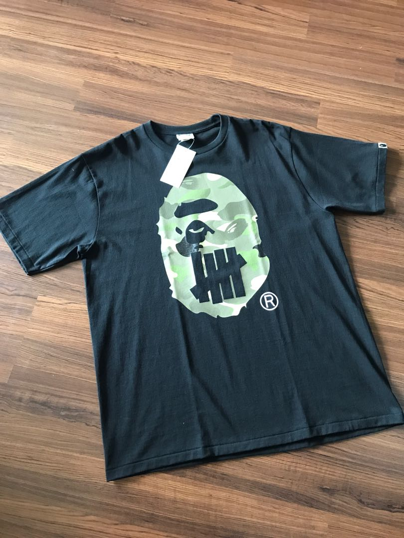 ef2607e7 Bape x undefeated, Men's Fashion, Clothes, Tops on Carousell