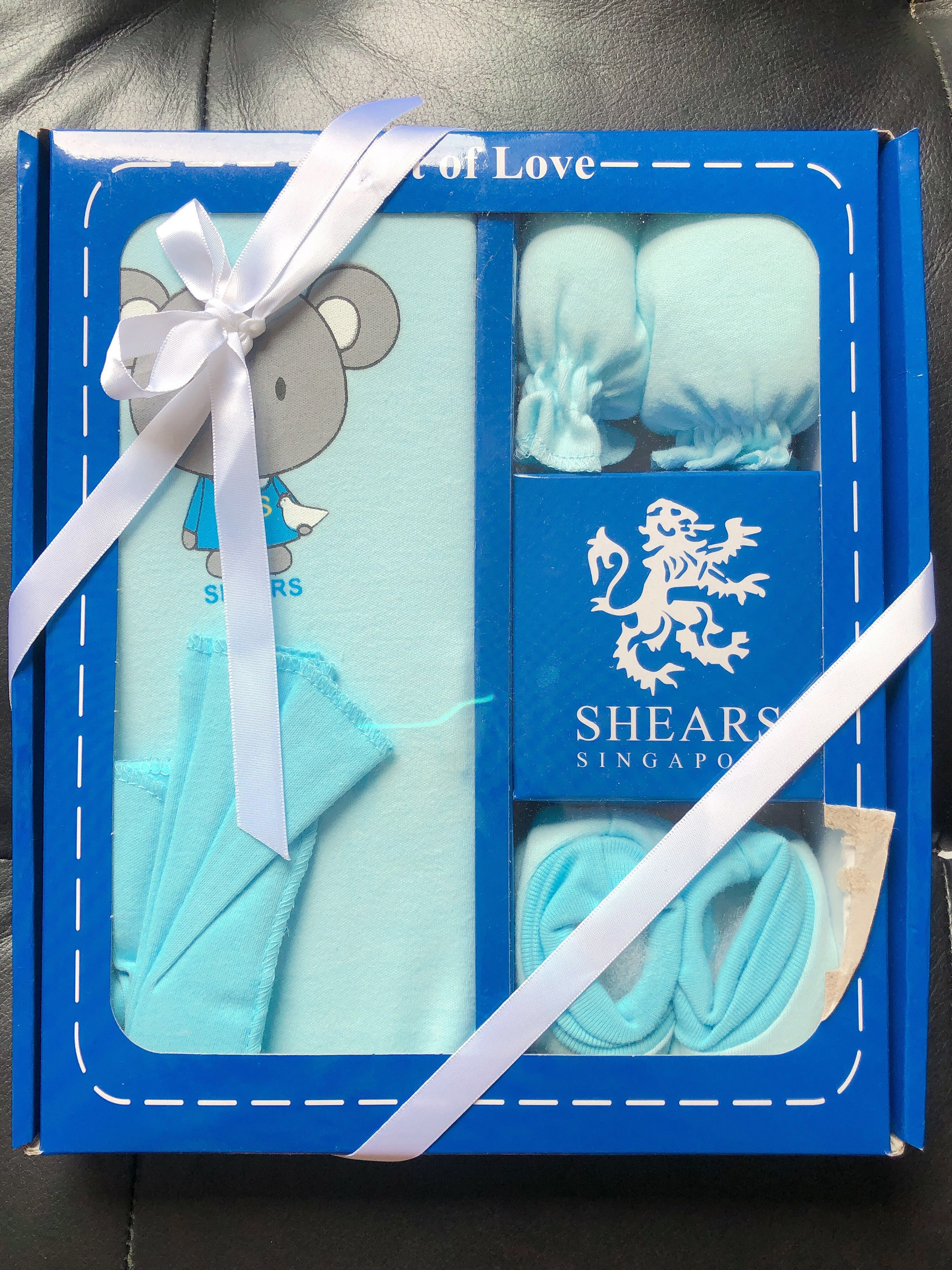 2f2d9a989516 Brand New - Shears Cotton 4pc Baby Gift Set
