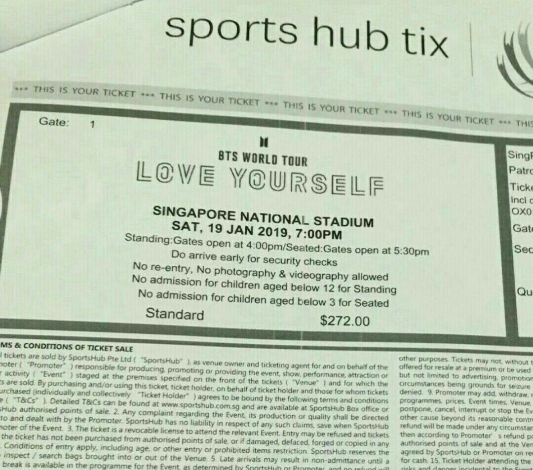 CHEAPEST 4 BTS love yourself world tour concert tickets!!!