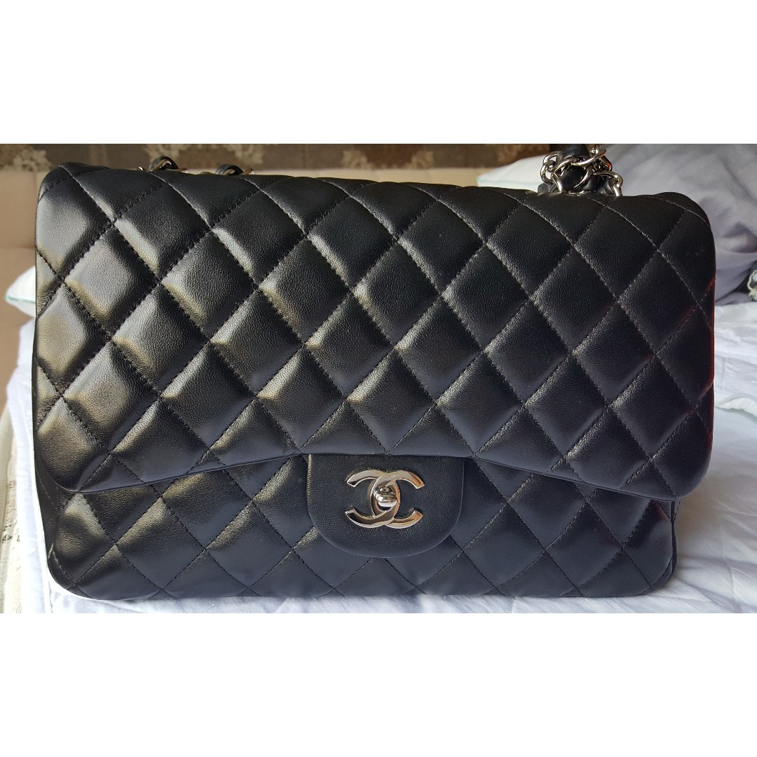 628f46e0850b Chanel Classic Single Flap in Jumbo size