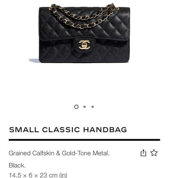 b102d6a03ce8a7 Chanel small classic flap bag, Luxury, Bags & Wallets, Handbags on Carousell
