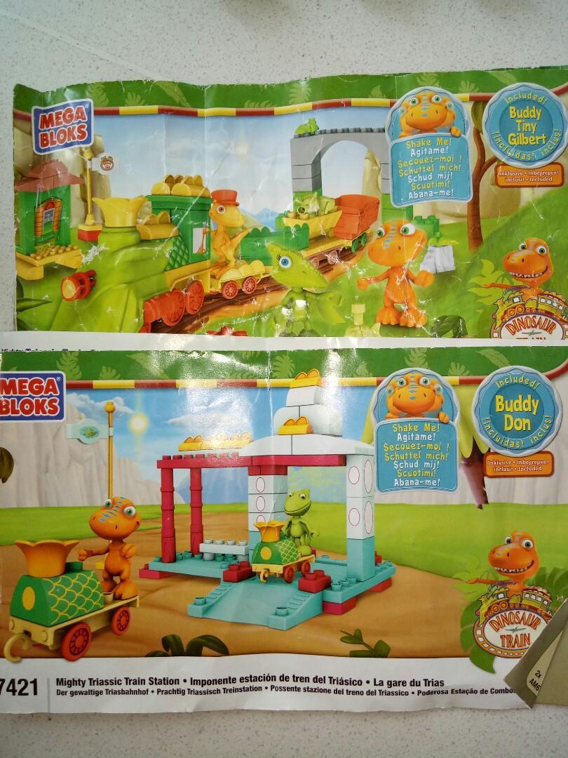 Dinosaur Train - Mega Bloks (2 sets), Toys & Games, Others