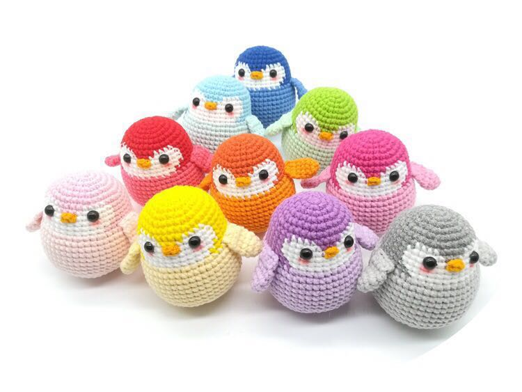 Handmade Crochet Penguin Amigurumi Design Craft Handmade Craft