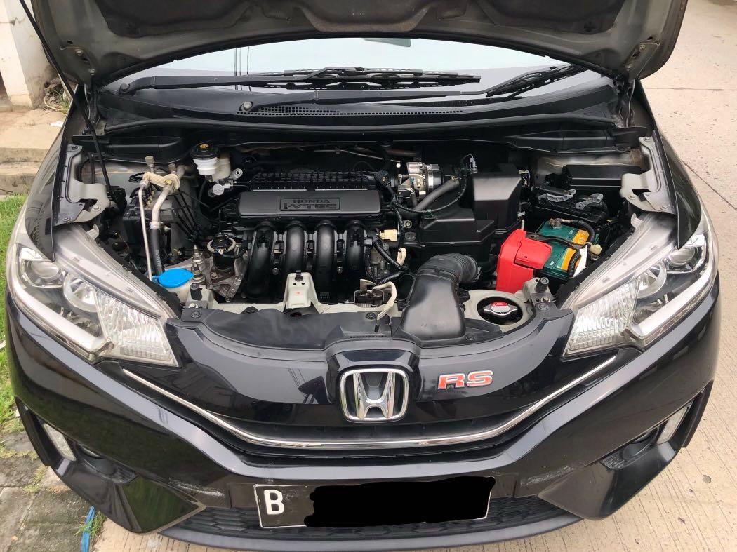 Honda Jazz 2014 CVT RS, Km 35rb record, Tangan pertama. New model