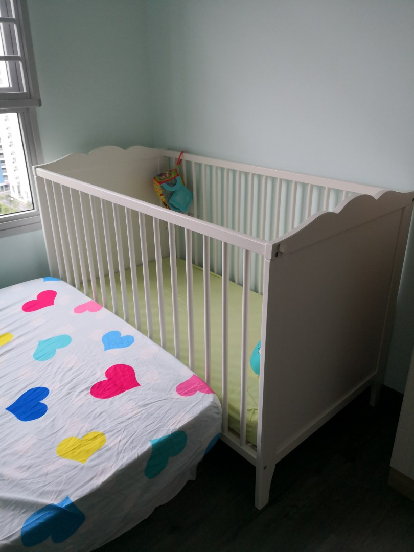 competitive price 70fd1 e9523 IKEA baby cot