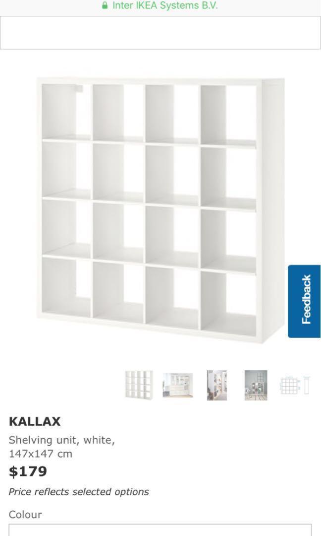 kallax 4x4