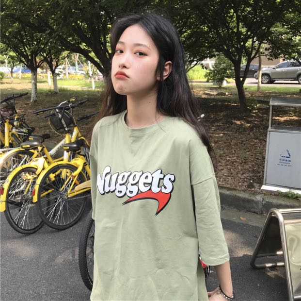 ac38c34a6 INS oversized graphic tee, Women's Fashion, Clothes, Tops on Carousell