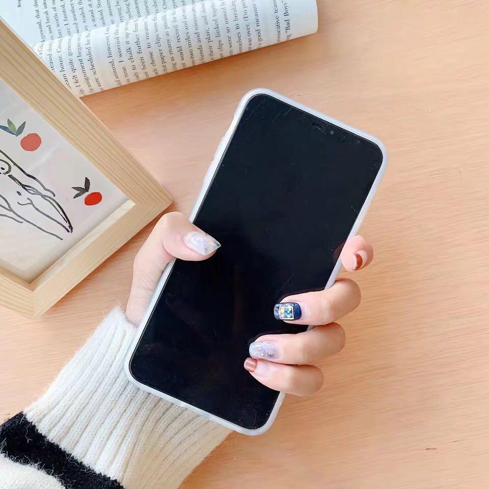 超美祖母綠⚪️圓點點貝殼全包軟殼手機殼iPhone Xs Max XR i8 i7 i6 6s Plus