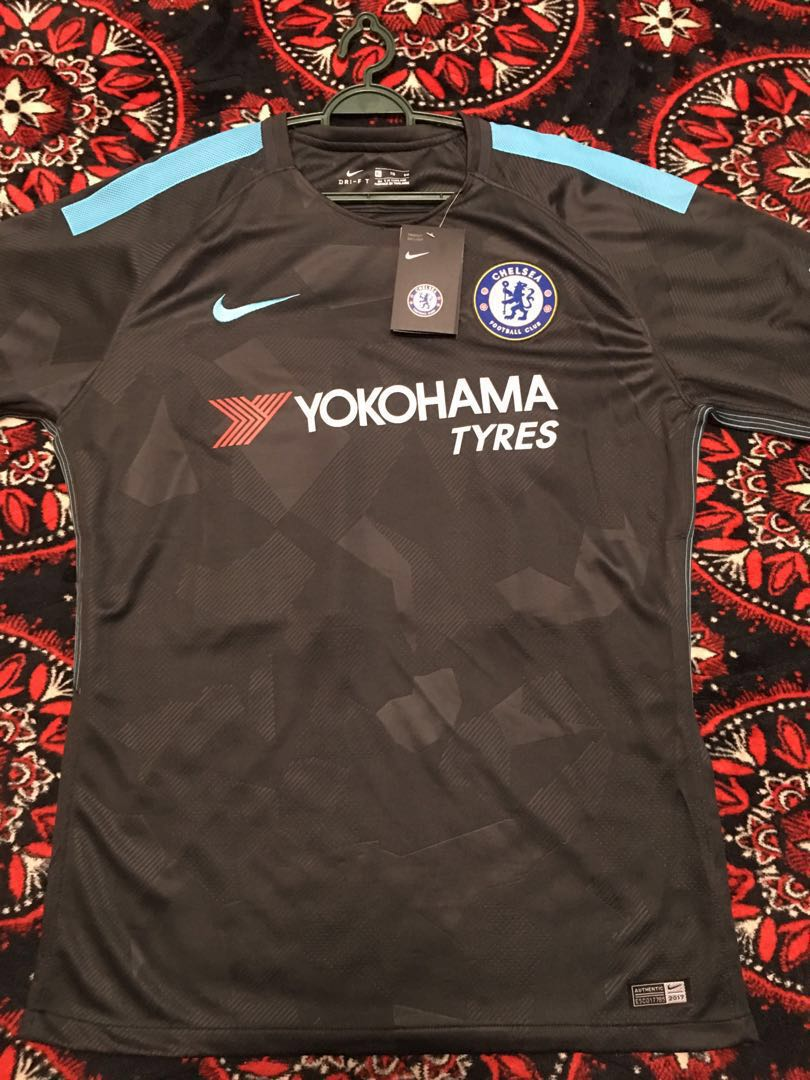 reputable site 0db8c b3d8f Jersey Chelsea Third Kit 3 17/18