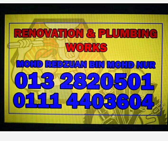 Kajang plumbing 0132820501 mohd Redzuan